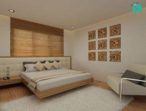 Sree Dhanya Vantage Point - Bedroom