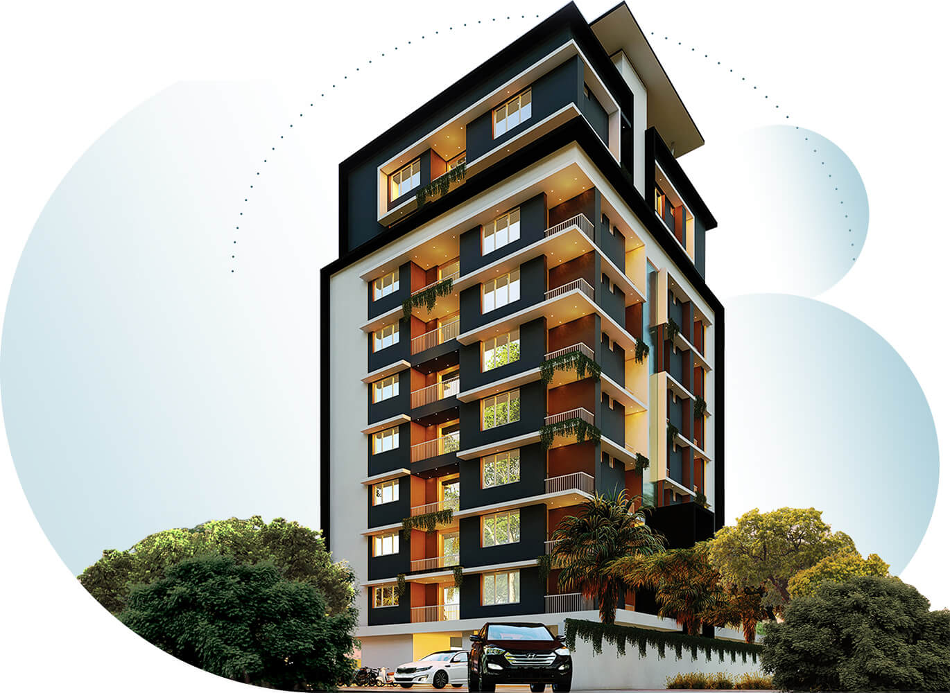 Sree Dhanya Homes La Maison - Apartments in Trivandrum