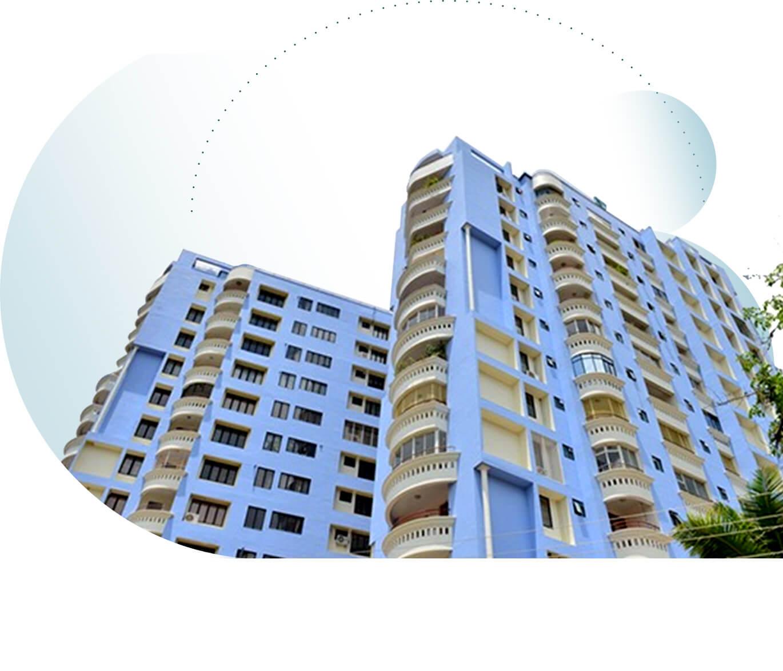 Sree Dhanya Haven - Luxury Apartments in Ambalamukku, Trivandrum