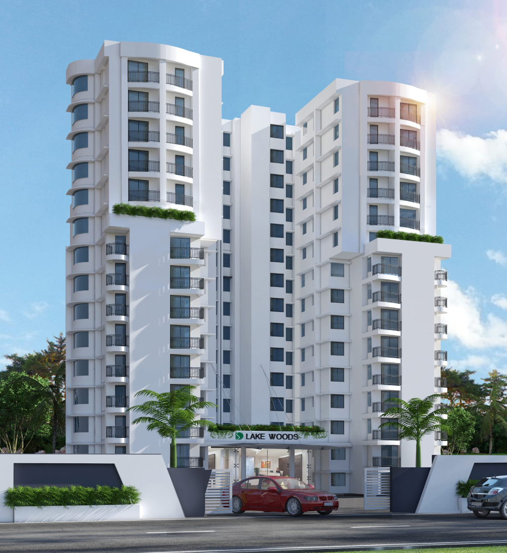 Sree Dhanya Lakewoods - Luxury Apartments in Akkulam, Trivandrum
