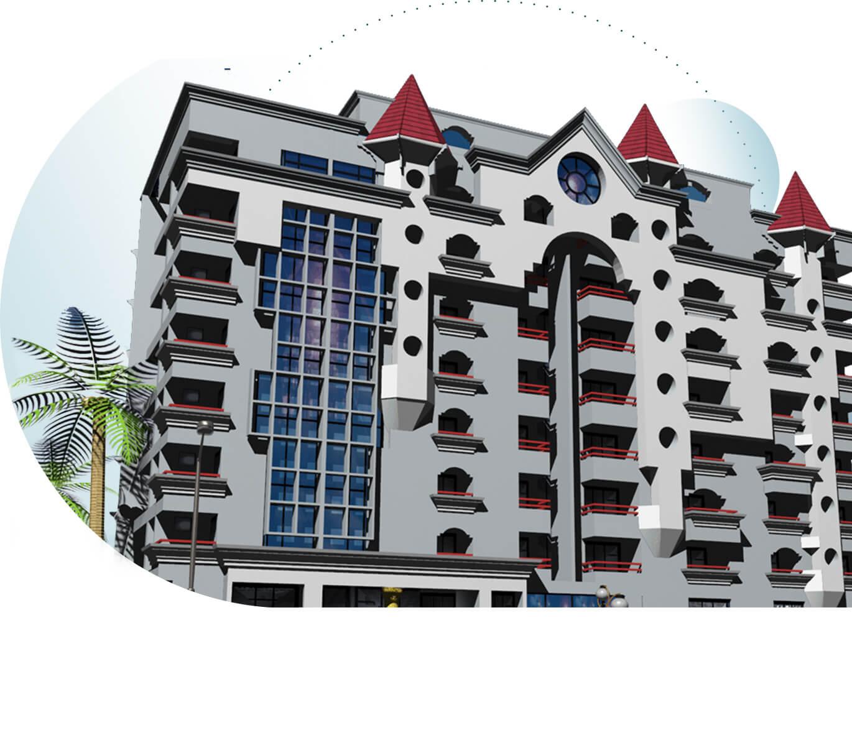 Sree Dhanya Castle - Luxury Apartments in Kowdiar, Trivandrum